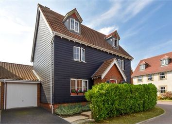 Thumbnail 5 bed detached house for sale in Atkinson Road, Hawkinge, Folkestone, Kent