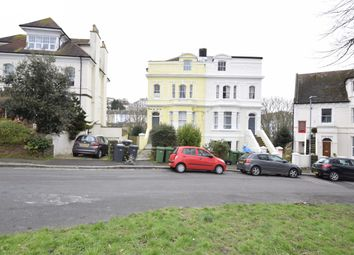 Thumbnail 2 bed flat to rent in Basement Flat, 6 Quarry Crescent, Hastings, East Sussex