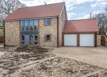 Thumbnail 4 bed detached house for sale in Dereham Road, Scarning, Dereham