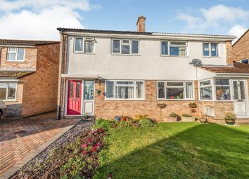 Thumbnail 3 bedroom semi-detached house for sale in Somerleaze Close, Wells