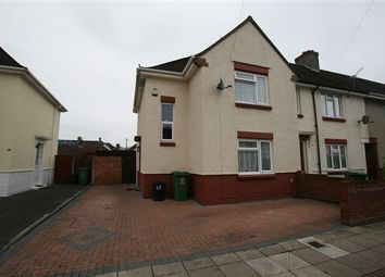 Thumbnail 3 bedroom end terrace house to rent in Sandown Road, Cosham, Portsmouth, Hampshire