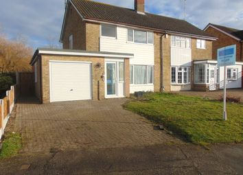 Thumbnail 3 bed semi-detached house to rent in Swallowdale, Basildon