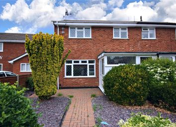Thumbnail 3 bed semi-detached house for sale in School Road, Wychbold, Droitwich
