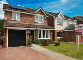 Thumbnail 4 bed detached house for sale in St. Matthews Close, Renishaw, Sheffield