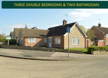 Thumbnail 3 bed bungalow for sale in Linwal Avenue, Houghton-On-The-Hill, Leicester