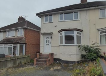 Thumbnail 3 bedroom semi-detached house for sale in Sant Road, Northfield, Birmingham