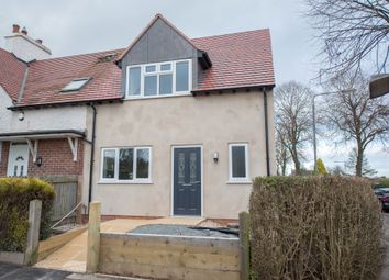 Thumbnail 3 bed end terrace house for sale in Robinson Road, Mapperley, Nottingham