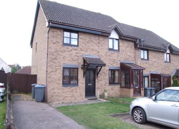 Thumbnail 2 bed end terrace house for sale in Dove Close, Saxmundham, Suffolk