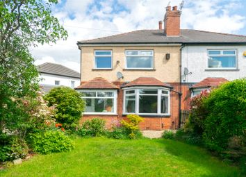 Thumbnail 3 bed semi-detached house for sale in Wensley Drive, Leeds, West Yorkshire