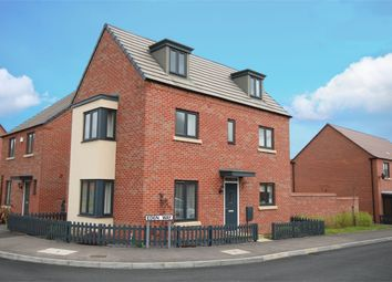 Thumbnail 4 bedroom detached house for sale in Eden Way, Marina Gardens, Northampton