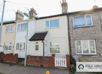 Thumbnail 2 bed terraced house to rent in Haward Street, Lowestoft