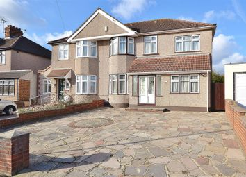 Thumbnail 4 bed semi-detached house for sale in Mossford Lane, Ilford