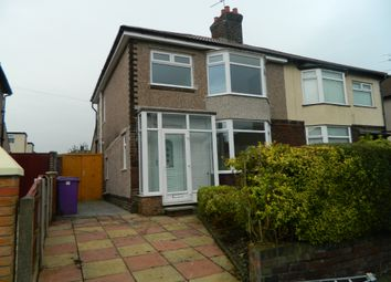 Thumbnail 3 bed semi-detached house to rent in Rudston Road, Childwall, Liverpool