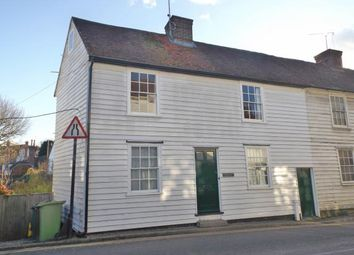 Thumbnail 2 bed end terrace house for sale in Waterloo Road, Cranbrook, Kent