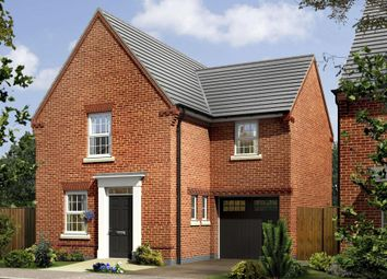 "Thumbnail 3 bed detached house for sale in ""Bradwell"" at Barnsley Road, Flockton, Wakefield"