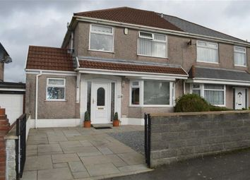 Thumbnail 3 bedroom semi-detached house for sale in Graiglwydd Road, Swansea
