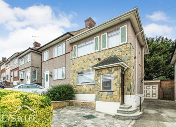 Thumbnail 3 bed semi-detached house for sale in Kingshill Avenue, Collier Row, Romford