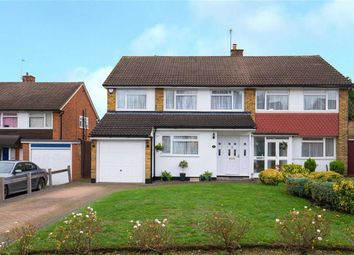 Thumbnail 4 bed semi-detached house for sale in Tiverton Road, Potters Bar, Hertfordshire
