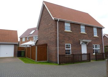 Thumbnail 3 bedroom detached house to rent in Bullfinch Drive, Harleston, Norfolk