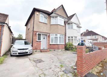 Thumbnail 3 bed semi-detached house for sale in Dawley Avenue, Uxbridge, Middlesex