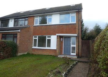 Thumbnail 4 bed semi-detached house to rent in Mitchley Avenue, Purley