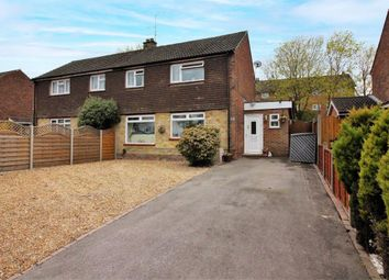 Thumbnail 3 bed semi-detached house for sale in Field Lane, Frimley