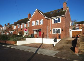 Thumbnail 4 bed semi-detached house for sale in Prince Charles Road, Exeter