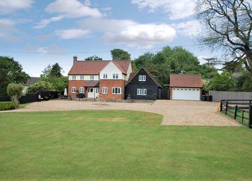 Thumbnail 5 bed detached house for sale in Church Hill, Helions Bumpstead, Haverhill