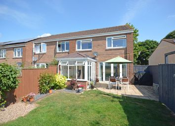 Thumbnail 3 bed semi-detached house for sale in Broadlands, Thorverton, Exeter
