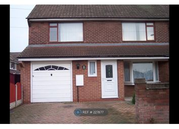 Thumbnail 3 bed end terrace house to rent in Aintree Avenue, Doncaster