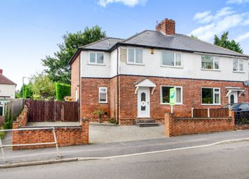 Thumbnail 3 bed semi-detached house for sale in Heanor Road, Codnor, Ripley