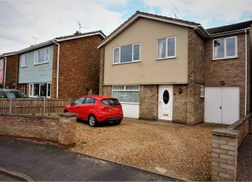 Thumbnail 4 bedroom detached house for sale in Snoots Road, Peterborough