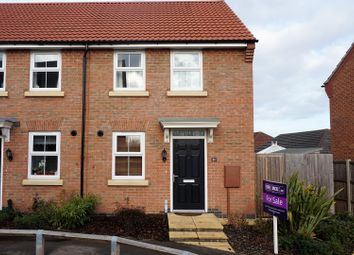 Thumbnail 2 bed end terrace house for sale in Warwick Close, Bourne