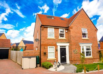 Thumbnail 5 bed detached house for sale in Butterfly Close, Buckingham