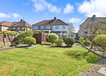 Thumbnail 3 bed semi-detached house for sale in Manor Road, Crayford, Kent