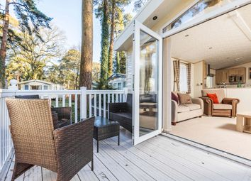 Thumbnail 2 bed mobile/park home for sale in Southampton Road, Fordingbridge, New Forest