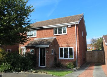Thumbnail 2 bedroom semi-detached house to rent in Dunkeld Close, Blyth