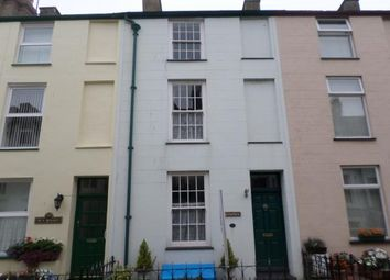 Thumbnail 3 bed terraced house to rent in 20, Market Street, Caernarfon