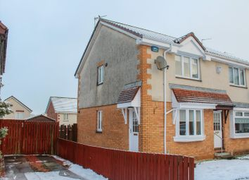 Thumbnail 2 bed end terrace house for sale in Glentrool Gardens, Moodiesburn