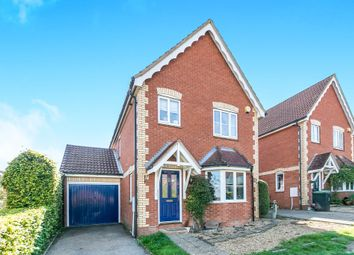 Thumbnail 3 bed detached house for sale in Willow Close, Claydon, Ipswich