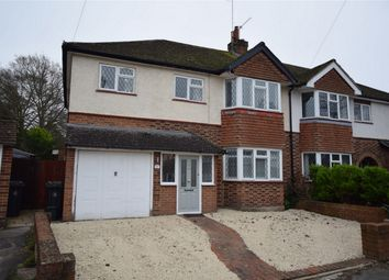 Thumbnail 4 bed semi-detached house for sale in Chillingham Way, Camberley, Surrey