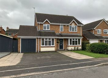 Thumbnail Detached house for sale in Pickering Road, Broughton Astley, Leicester