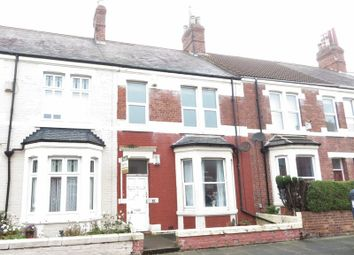 Thumbnail 2 bed flat to rent in Laburnum Avenue, Whitley Bay