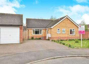 Thumbnail 3 bed detached bungalow for sale in Robert Close, Wymondham
