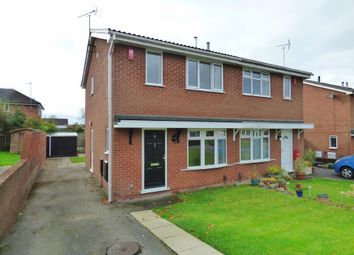 Thumbnail 3 bedroom semi-detached house to rent in Darsham Gardens, Westbury Park, Newcastle