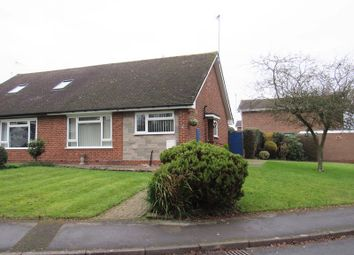 Thumbnail 2 bed semi-detached bungalow for sale in Mereside Way, Solihull