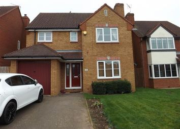 Thumbnail 4 bed detached house to rent in Melbourne Close, Nuneaton