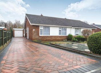 Thumbnail 2 bed semi-detached bungalow for sale in Holme Court Avenue, Biggleswade