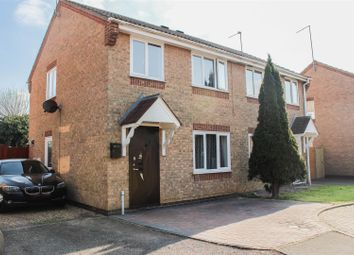 Thumbnail 3 bedroom semi-detached house for sale in Marriot Court, Oxney Road, Peterborough