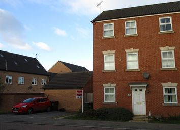 Thumbnail 3 bed town house for sale in Jackdaw Road, Corby